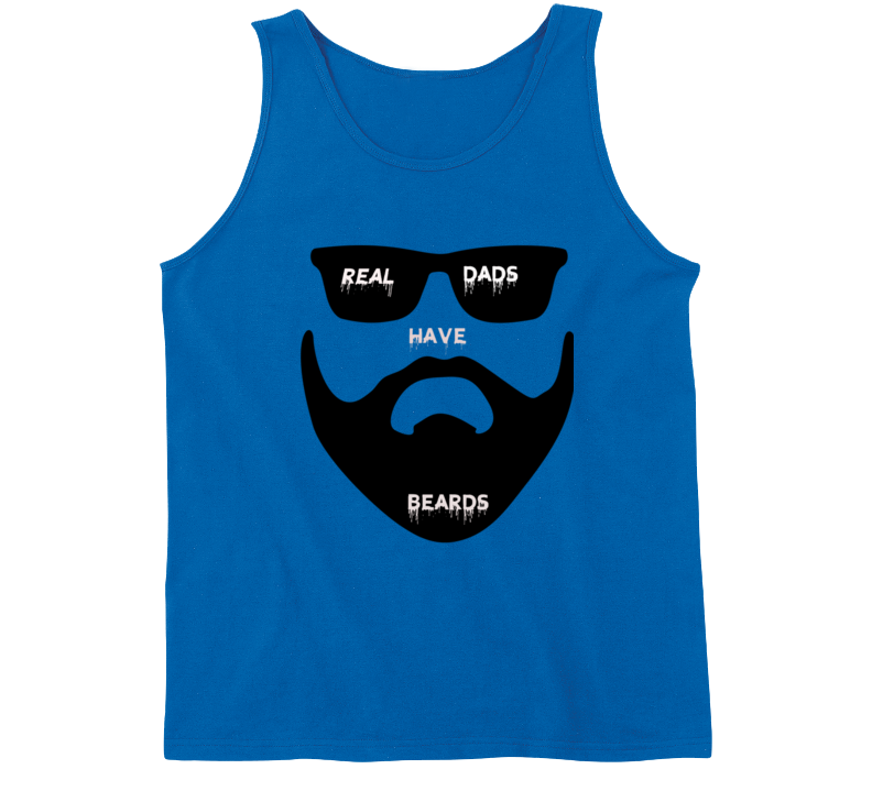 Real Dads Have Beards Tanktop
