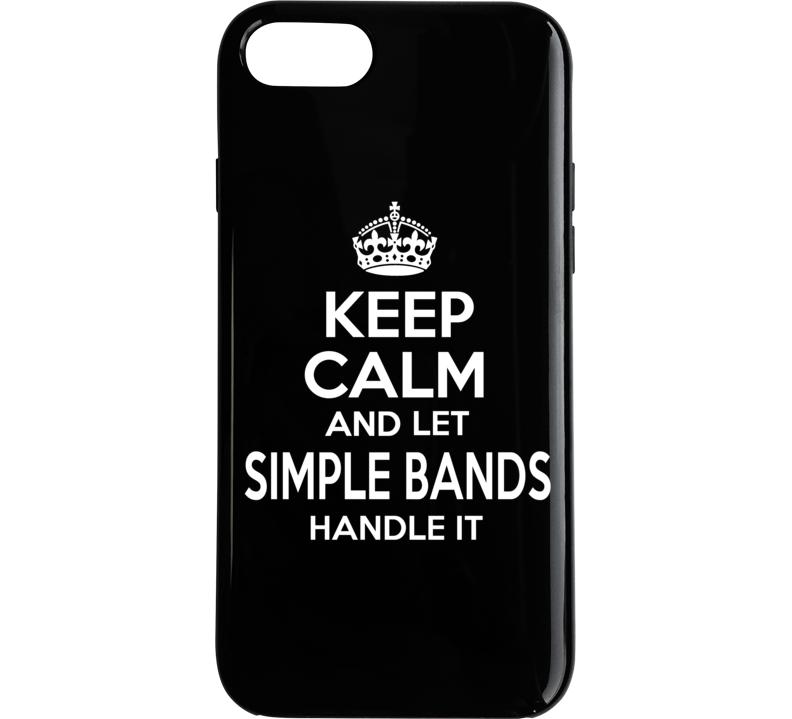Keep Calm Let Sb Handle It Phone Case