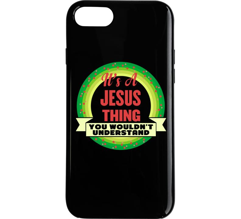 Jesus Thing Phone Case