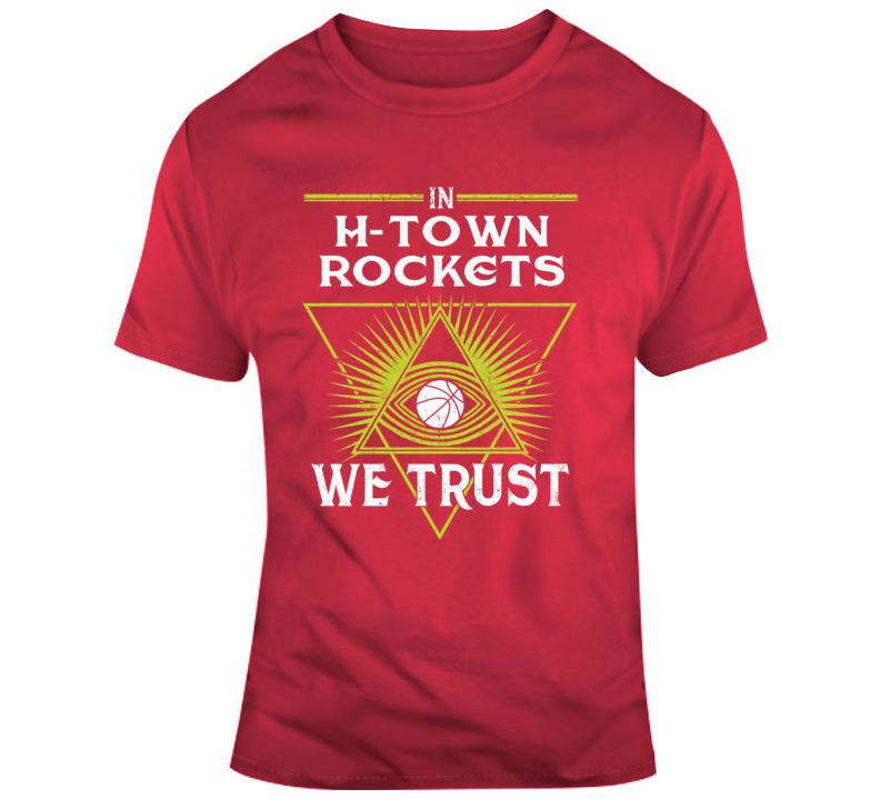 Rockets Bask  T Shirt