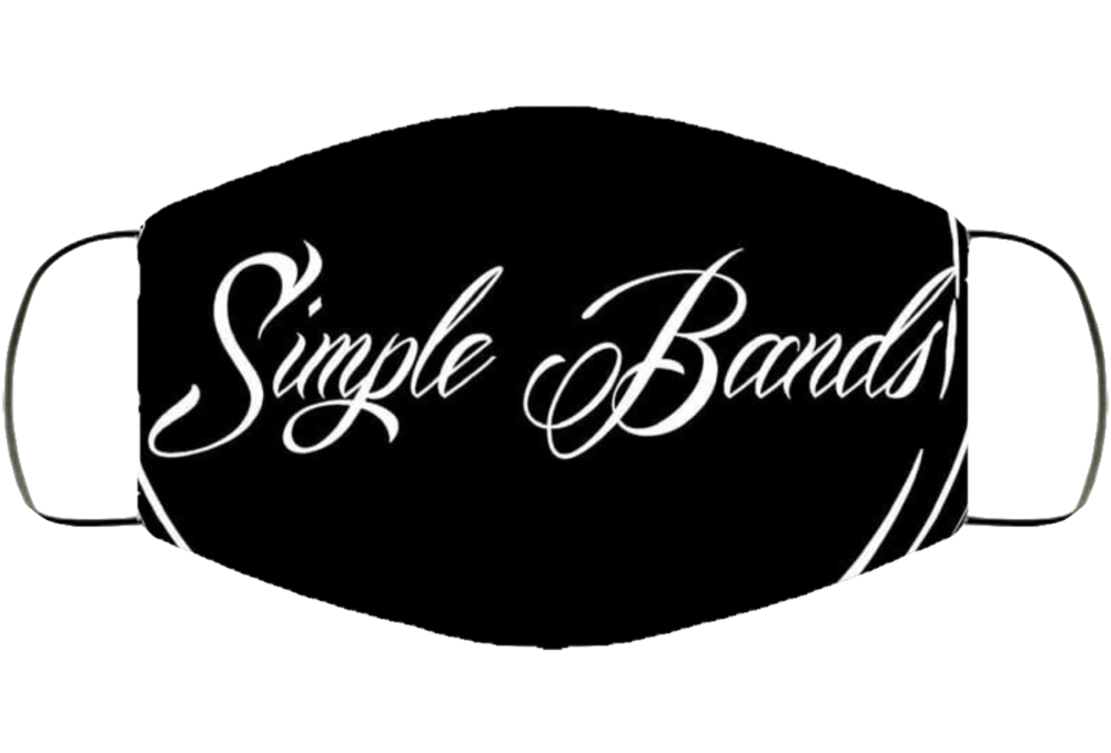 Sb Logo Blk Face Mask Cover