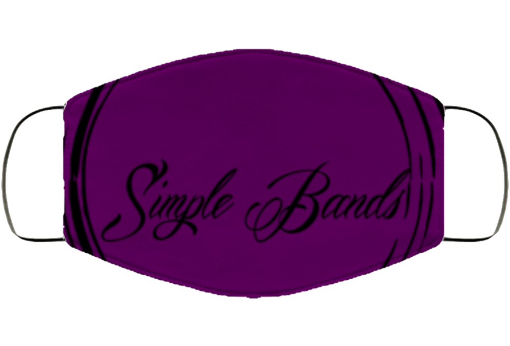 Purple Sb Logo Face Mask Cover