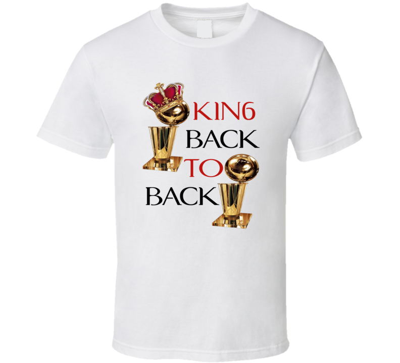 KIN6 BACK TO BACK WHITE T SHIRT