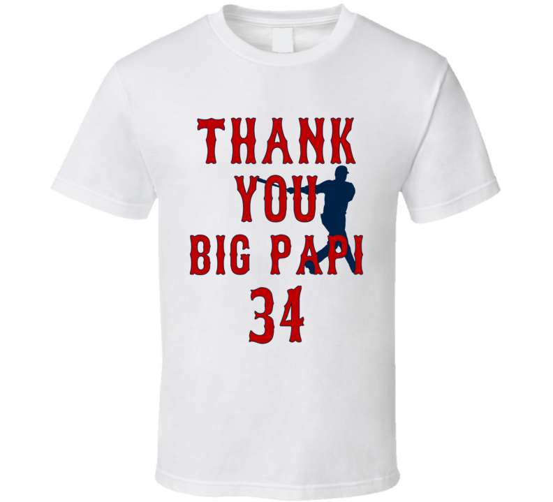 Thank You Big Papi T Shirt