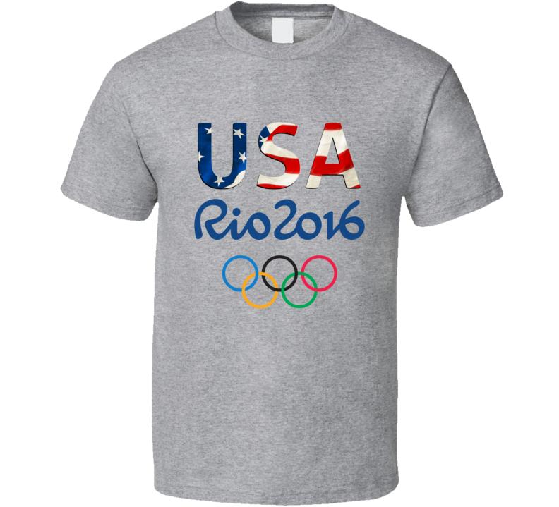 USA OLYMPICS 2016 T Shirt