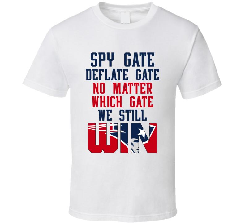 Spy Gate Deflate Gate T Shirt