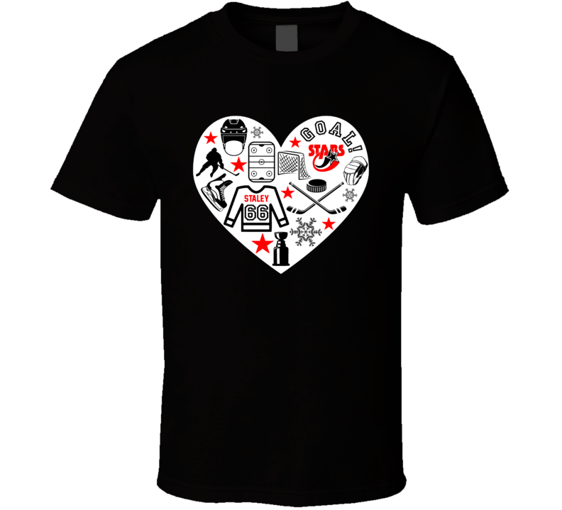 Player Jersey Icon Symbols Heart Mashup T Shirt
