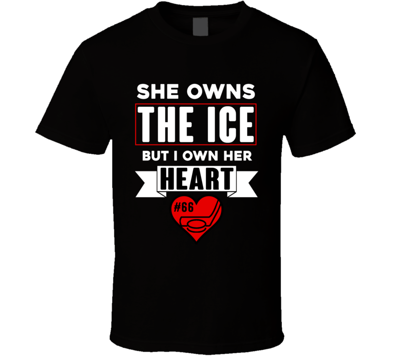 She Owns The Ice But I Own Her Heart T Shirt