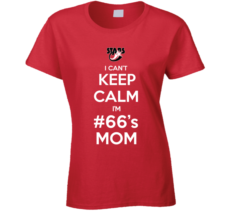 I Cant Keep Calm Im Players Mom Custom Fan T Shirt