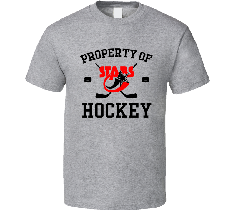 Property Of Stars Hockey T Shirt