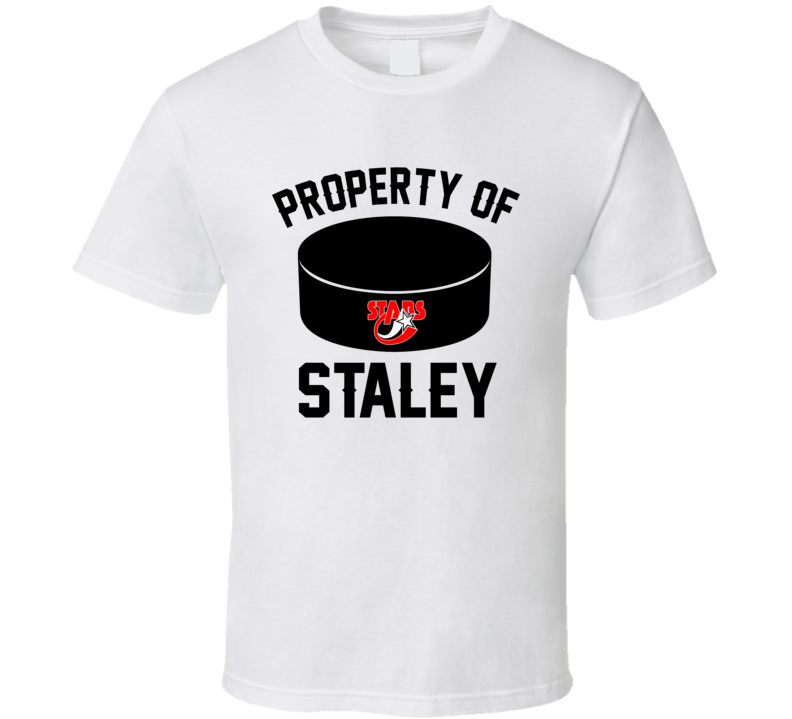Property Of Stars Custom Player Last Name T Shirt