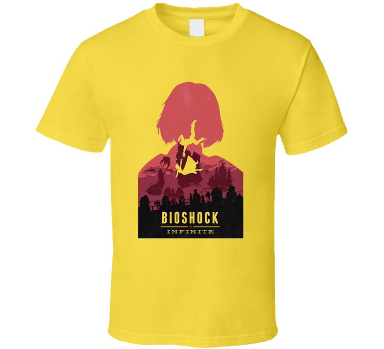 Bioshock Infinite Video Game T Shirt