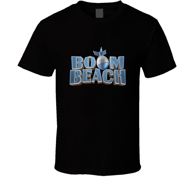 Boom Beach Logo Video Game T Shirt