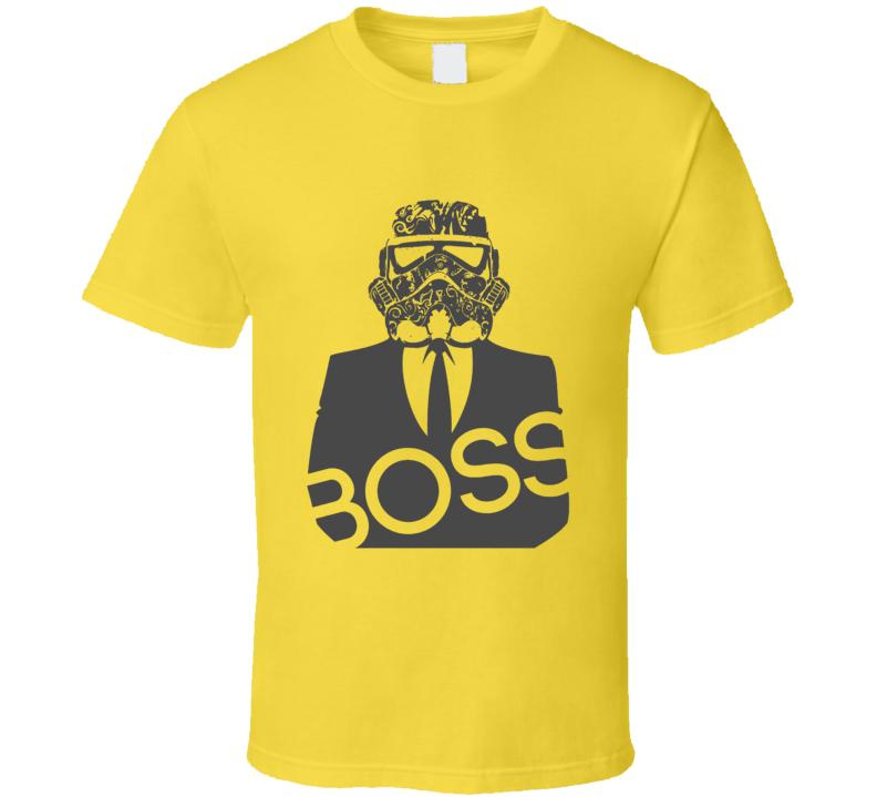 Storm Trooper Boss Star Wars Movie T Shirt