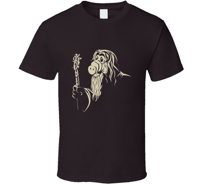 GandALF Lord Of The Rings And Alf Combo Funny T Shirt