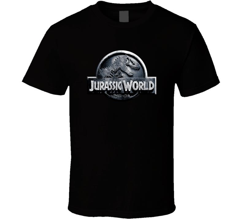 Jurassic World Logo Movie T Shirt