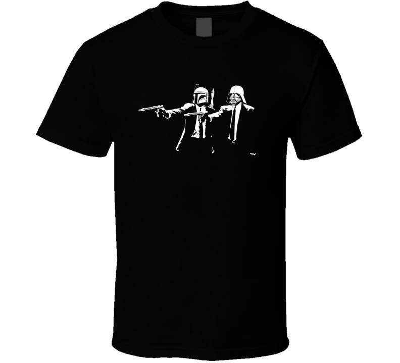 Star Wars Pulp Fiction Crossover Movie T Shirt