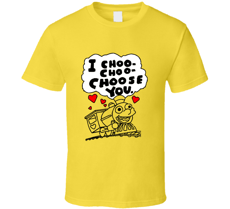 Simpsons I Choo-Choo-Choose You Ralph Wiggum Funny TV Show T Shirt