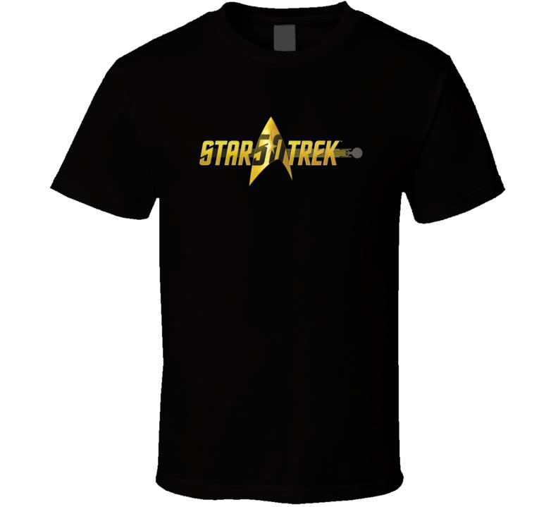 Star Trek Logo 50th Anniversary TV Show T Shirt