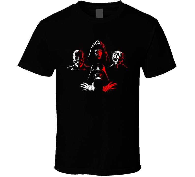 Star Wars Villains Collection Movie T Shirt