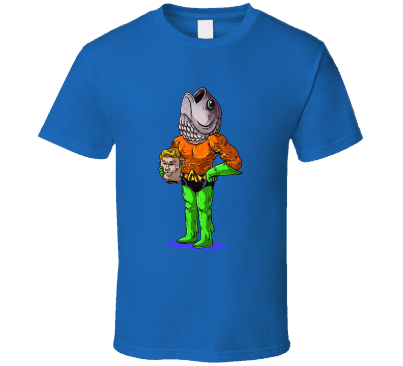 Aquaman DC Comics True Identity Funny Cartoon T Shirt
