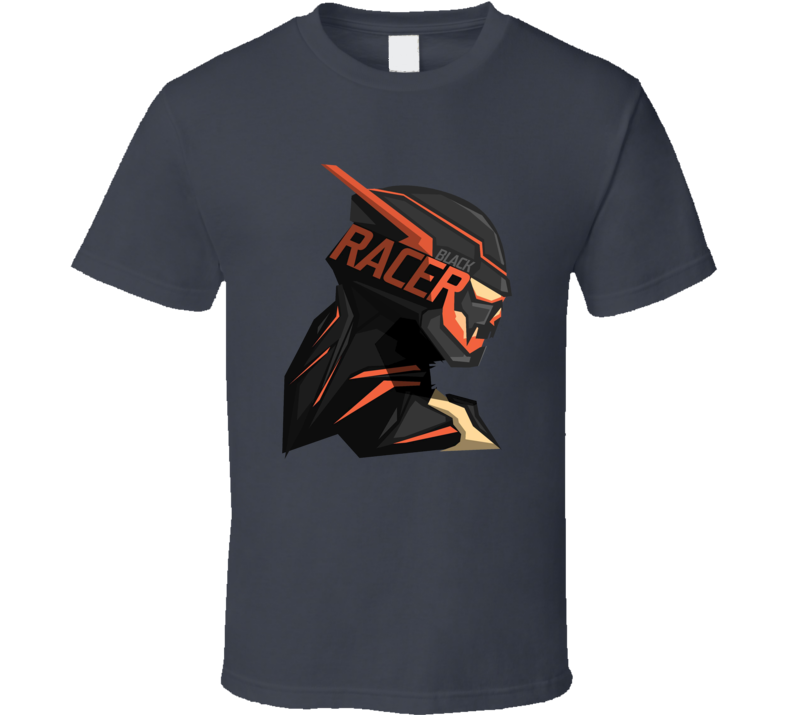 Black Racer The Flash DC Comic Book T Shirt