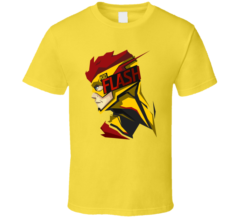 Kid Flash The Flash DC Comic Book T Shirt