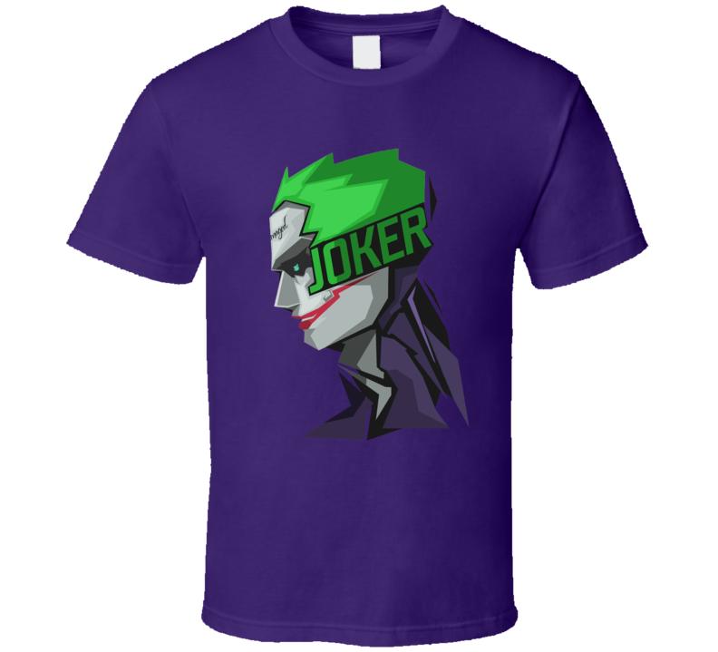 The Joker Batman DC Comic Book T Shirt