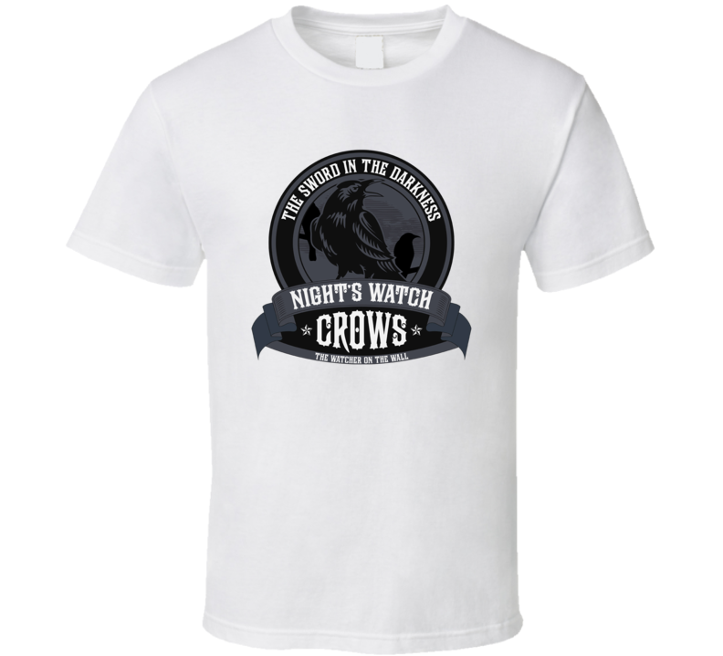Game Of Thrones The Night's Watch Crows TV Show T Shirt