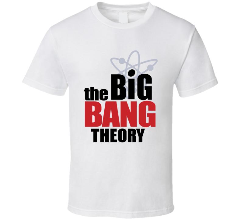 The Big Bang Theory Logo TV Show Geek T Shirt