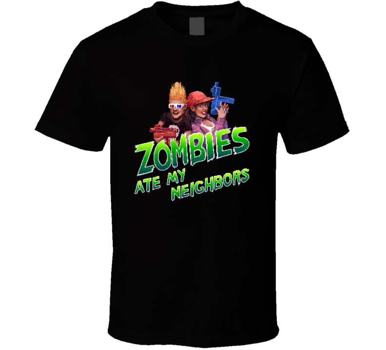 Zombies Ate My Neighbors Video Game T Shirt