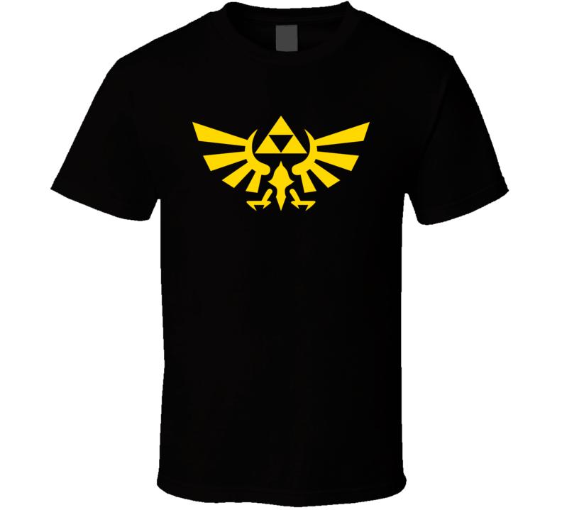 Zelda Triforce Crest Video Game T Shirt