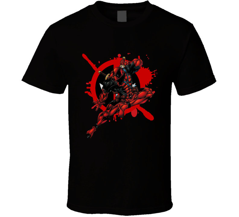 Deadpool Movie Marvel Comic Book T Shirt