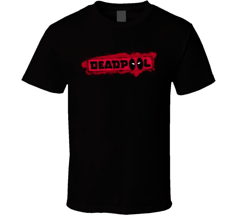Deadpool Logo Movie Marvel Comic Book T Shirt