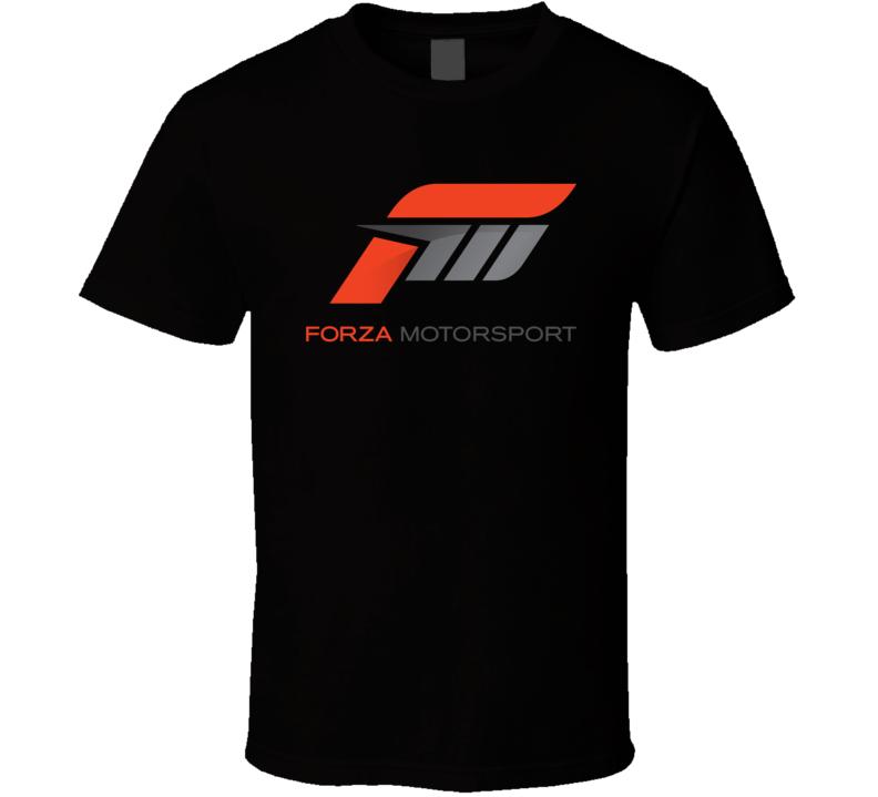 Forza Motorsport Video Game Logo T Shirt