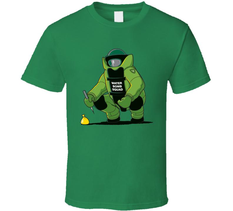 Water Bomb Squad Funny Geek T Shirt