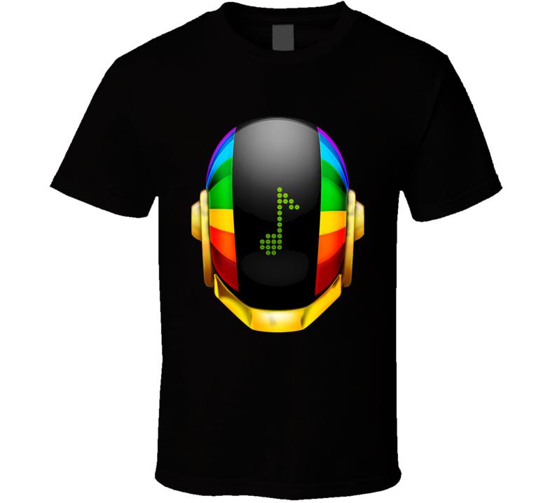 Daft Punk Helmet Music T Shirt