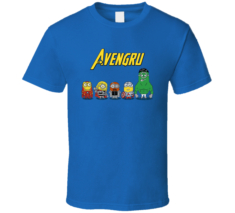 Avengru Gru Minions Avengers Parody Funny Movie T Shirt
