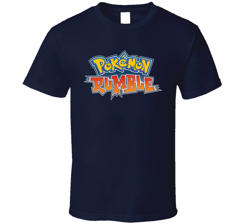 Pokemon Rumble Pokemon Go Video Game T Shirt