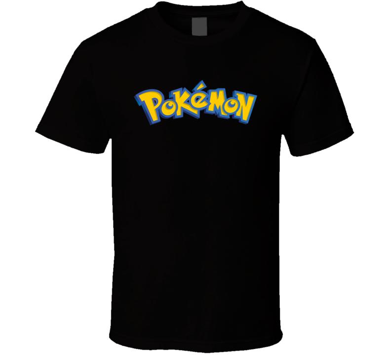 Pokemon Logo Video Game T Shirt