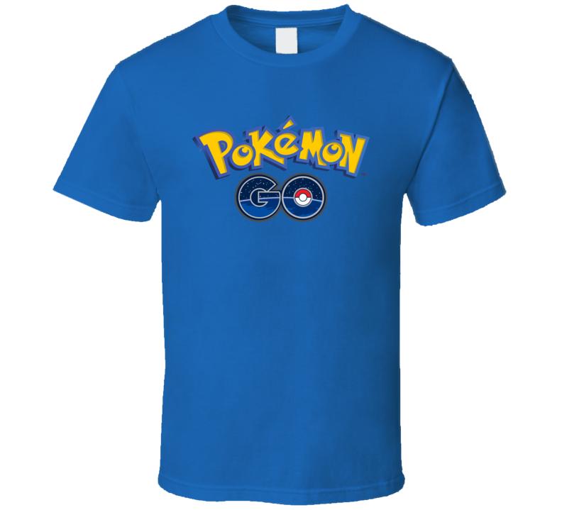 Pokemon Go Video Game T Shirt