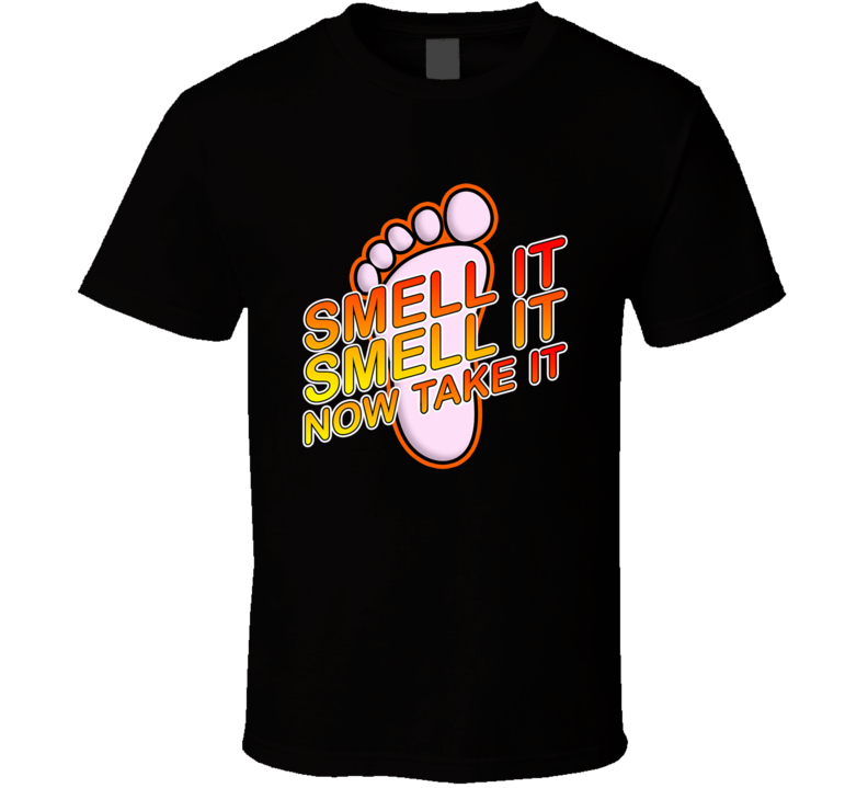 Smell It Now Take It Don't Mess With The Zohan Movie T Shirt