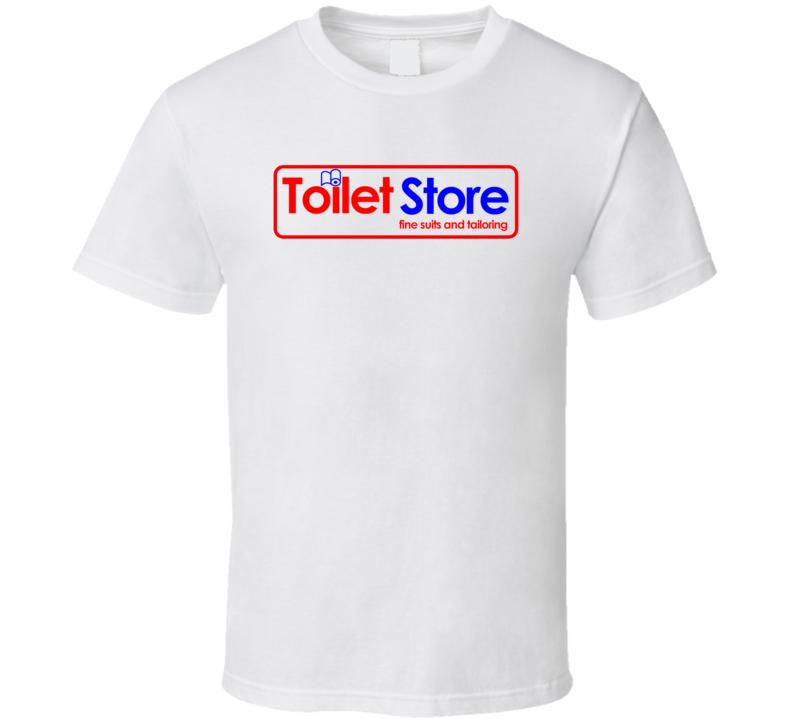 Toilet Store Anchorman Movie T Shirt