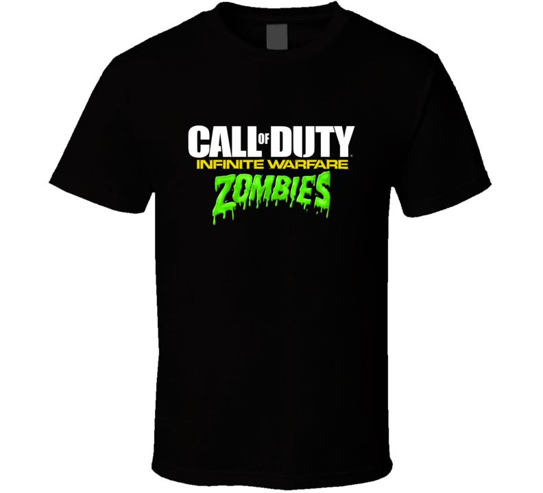 Call Of Duty Infinite Warfare Zombies Logo Video Game T Shirt