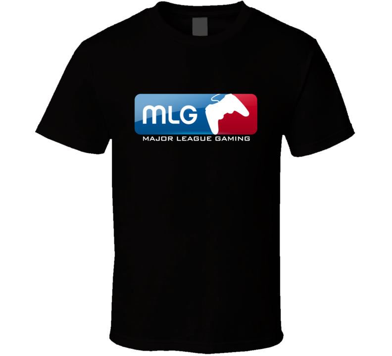 MLG Major League Gaming Logo Video Game  T Shirt