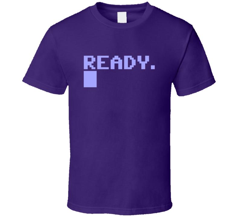 System Ready Computer Geek T Shirt
