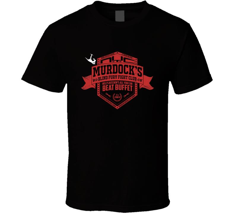 Murdock's Fight Club Daredevil Marvel Comic Book Movie T Shirt