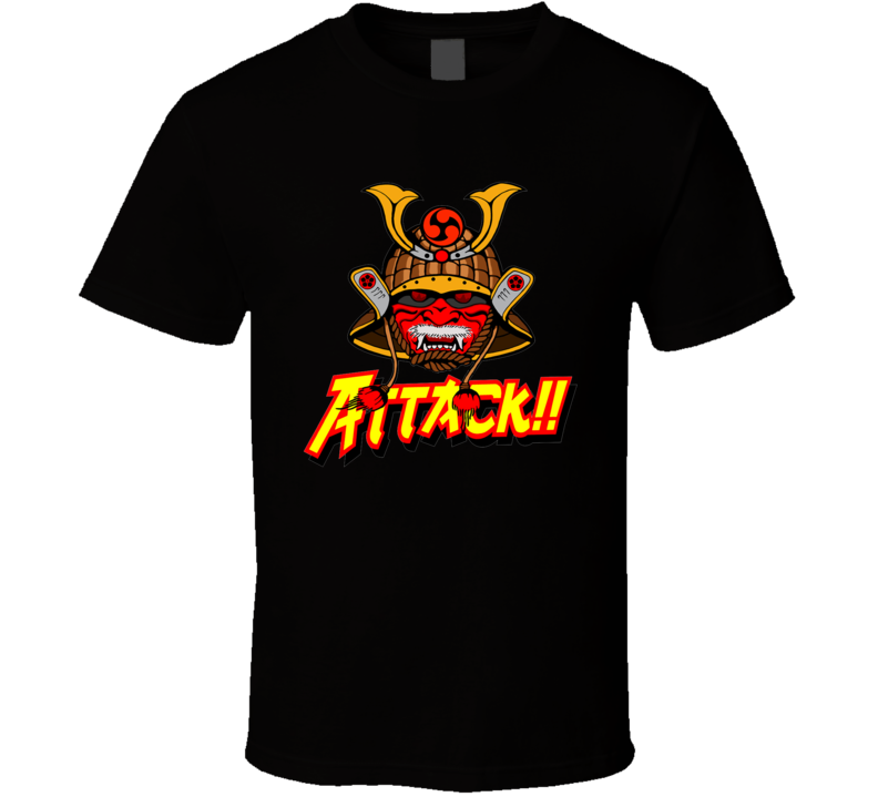 Samurai Attack!! T Shirt