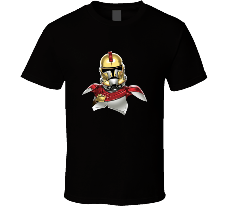 Star Wars Stormtrooper The 300 Crossover Movie T Shirt