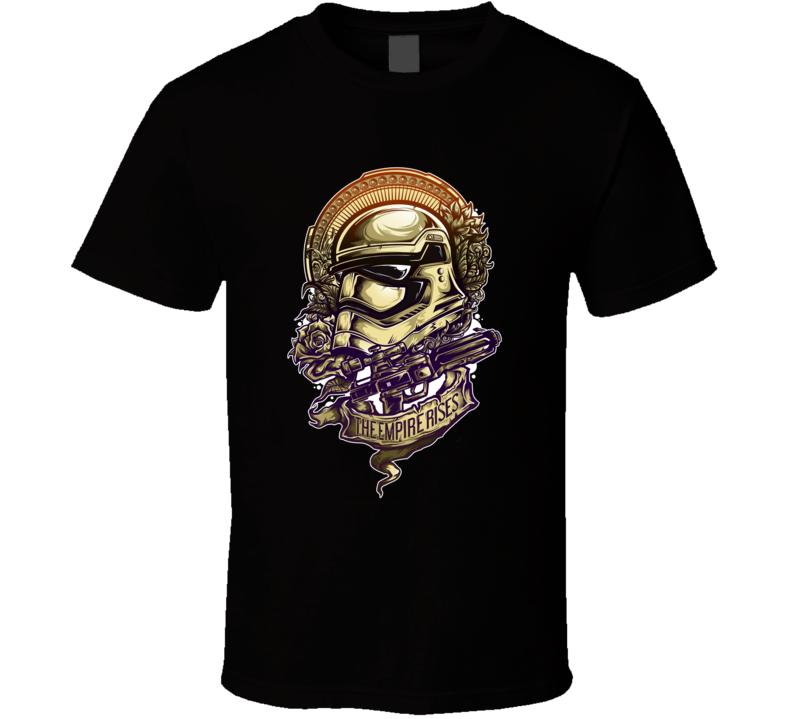 Star Wars The Empire Rises T Shirt